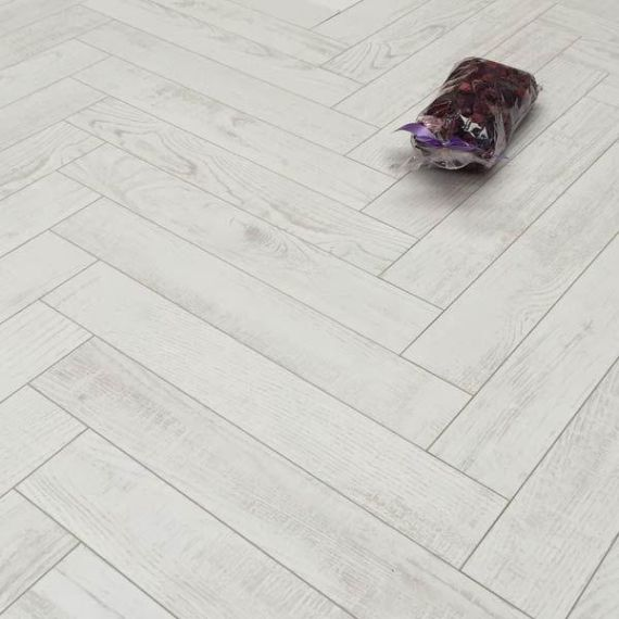 Sawbury Engineered White Oak Brushed and Matt Lacquered 125mm x 15/4mm Parquet Wood Flooring