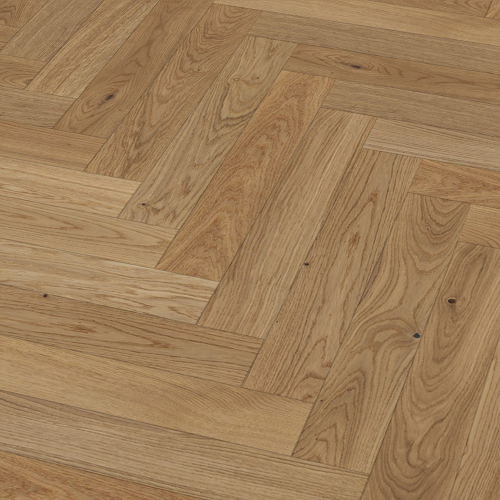Sawbury Elite Engineered Natural Oak Lacquered 70mm x 11/4mm Parquet Wood Flooring (Wooden Flooring)
