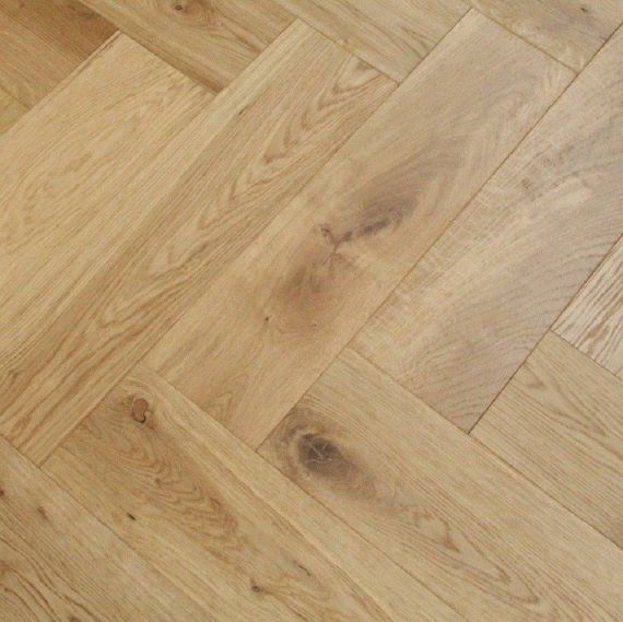 Sawbury Elite Engineered Natural Oak Oiled 70mm x 11/4mm Parquet Wood Flooring (Wooden Flooring)