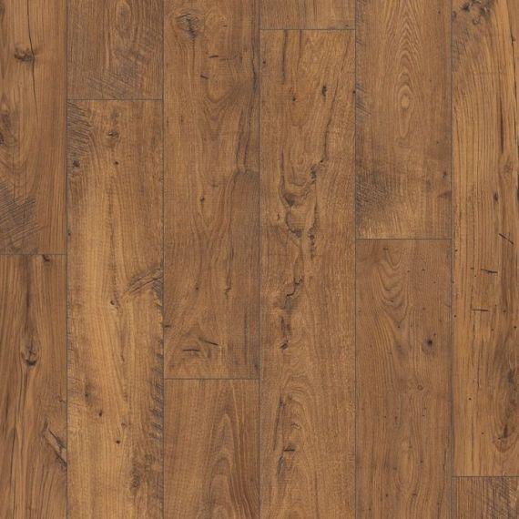 Quickstep Reclaimed Chestnut Antique 9.5mm 2V Perspective Wide Laminate Flooring (Wooden Flooring)