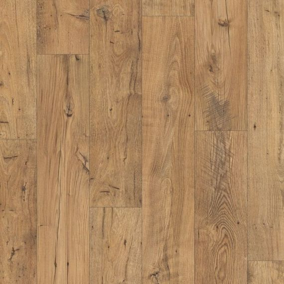 Quickstep Reclaimed Chestnut Natural 9.5mm Perspective Wide Laminate Flooring