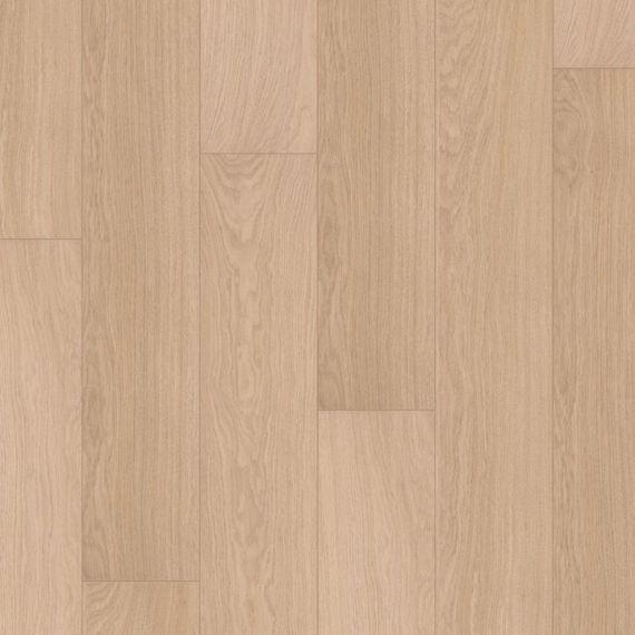 Quickstep White Varnished Oak Beige 8mm Eligna Laminate Flooring (Wooden Flooring)