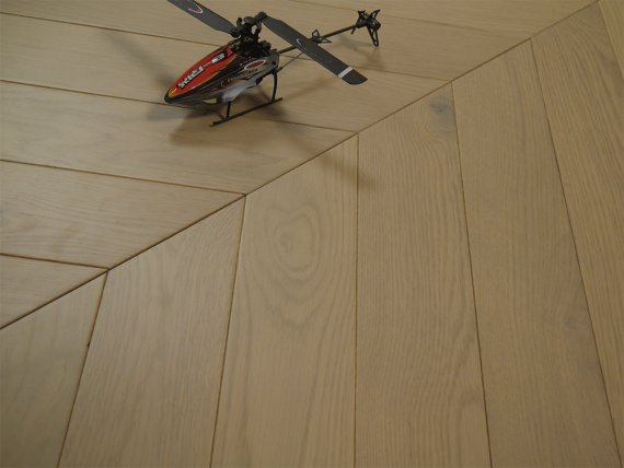 Sawbury Elite Engineered Grey Oak Matt Lacquered 90mm x 15/4 Chevron Wood Flooring