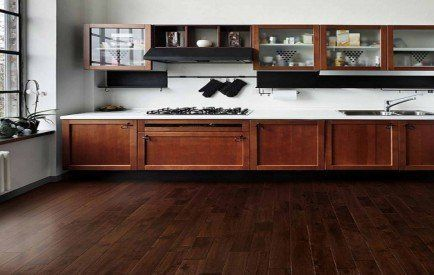 Glanwell Engineered Black Walnut Lacquered 190mm x 20/4mm Wood Flooring (Wooden Flooring)