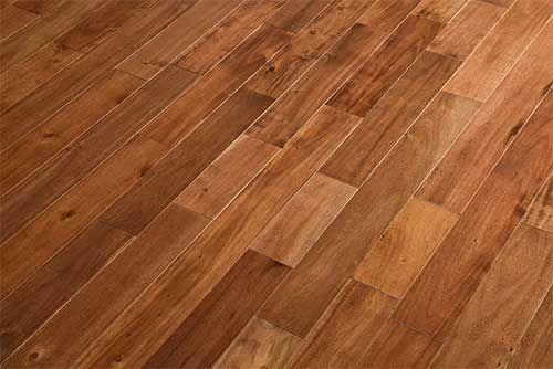 Edmonton Solid Tropical Acacia Walnut 123mm x 18mm Wood Flooring