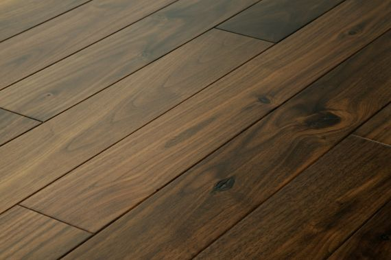 Hillingdon Engineered American Black Walnut 125mm x 14/2mm Wood Flooring