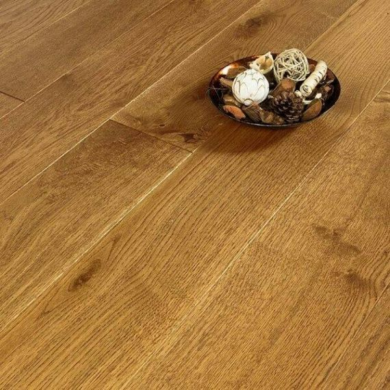 Glanwell Engineered Golden Oak Brushed and Oiled 125mm x 18/4mm Wood Flooring