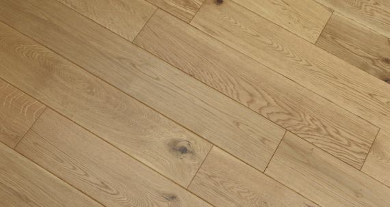 Henley Elite Engineered Natural Oak Handscraped Brushed & Oiled 127mm x 18/3mm Wood Flooring