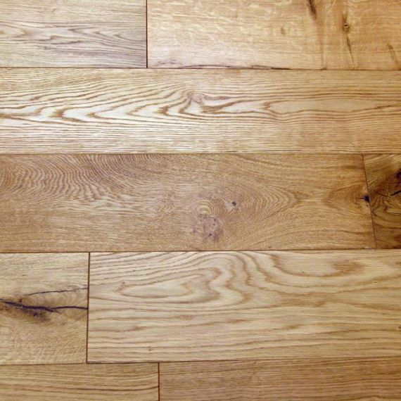 Calder Engineered Natural Oak Brushed and Oiled 150mm x 10/2.5mm Wood Flooring (Wooden Flooring)