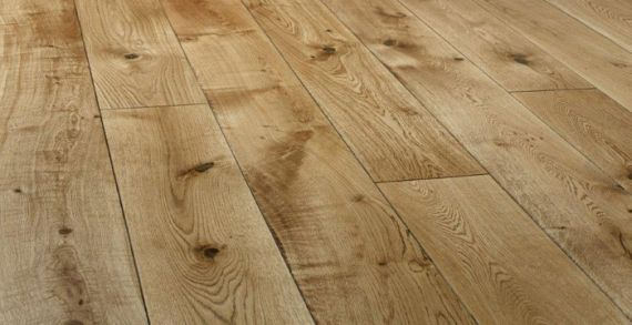 alder Engineered Natural Oak Oiled 150mm x 14/3mm Wood Flooring (Wooden Flooring)
