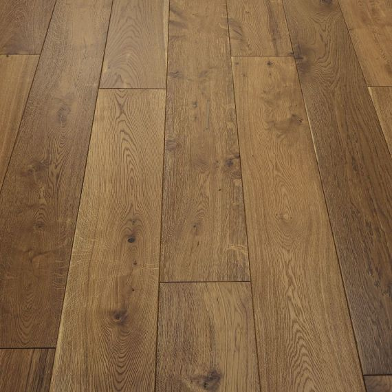 Stockholm Engineered Smoked Brushed and Oiled 125mm x 18/4mm Wood Flooring (Wooden Flooring)