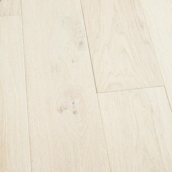 Stockholm Engineered White Oak Brushed and Matt Lacquered 150mm x 18/4mm Wood Flooring (Wooden Flooring)