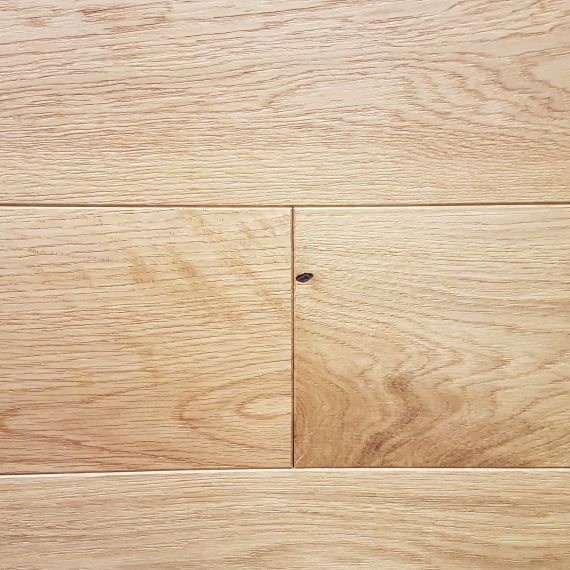 Calder Engineered Natural Oak Brushed and Lacquered 150mm x 20/6mm Wood Flooring