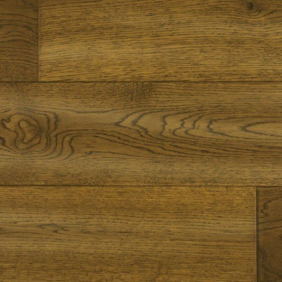 Calder Engineered Golden Wheat Oak Brushed and Lacquered 150mm x 20/6mm Wood Flooring (Wooden Flooring)