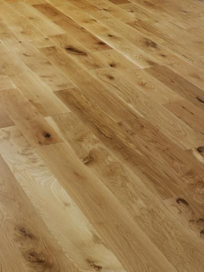 Twickenham Solid Natural Oak Brushed and Oiled 150mm X 18mm Wood Flooring (Wooden Flooring)