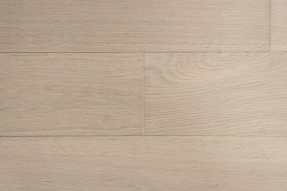 Edmonton Engineered Latte White Oak Brushed & Matt Lacquered Click Lok 180mm x 14/2.5mm Wood Flooring (Wooden Flooring)