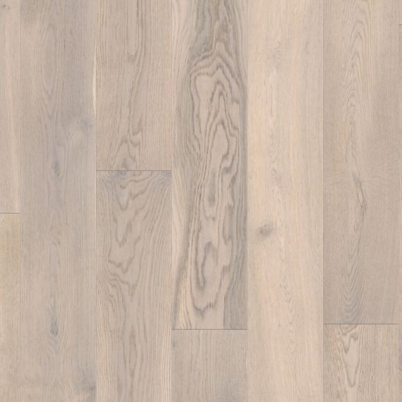 Barnworth Engineered Chalk Grey Oak Brushed & Matt Lacquered Click Lok 189mm x 14/3mm Wood Flooring (Wooden Flooring)