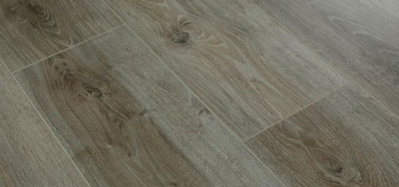 Stockholm Engineered Smoked Oak Brushed and White Oiled Click Lok 189mm x 14/3mm Wood Flooring (Wooden Flooring)