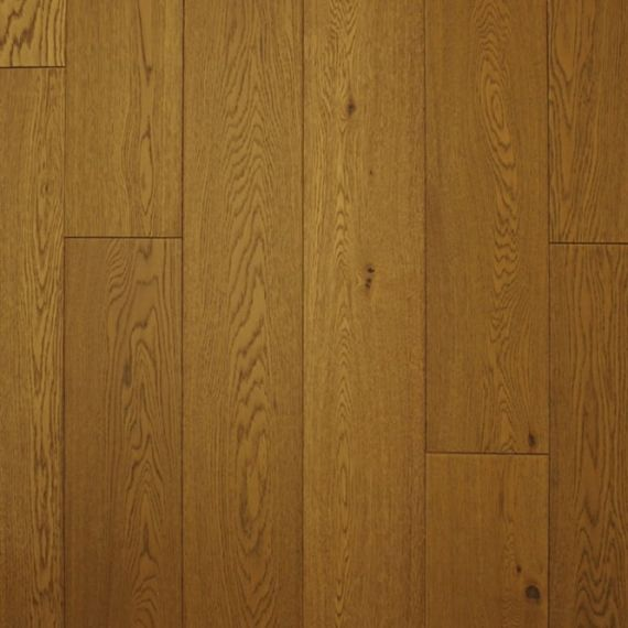 Hillingdon Engineered Golden Wheat Oak Brushed and Matt Lacquered Click Lok 189mm x 14/3mm Wood Flooring (Wooden Flooring)