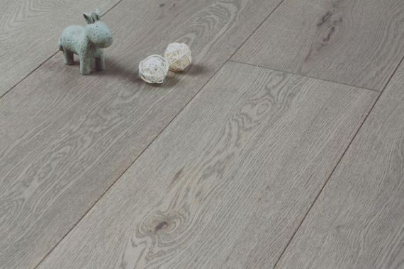 Hillingdon Engineered Clay Grey Oak Brushed and Matt Lacquered Click Lok 189mm x 14/3mm Wood Flooring