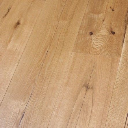 Highgate Engineered Natural Oak Rustic Aged Brushed and Oiled 190mm x 14/3mm Wood Flooring