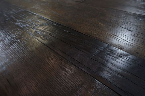 Twickenham Engineered Coffee Distressed Oak Brushed & Oiled 190mm X 14/3mm Wood Flooring