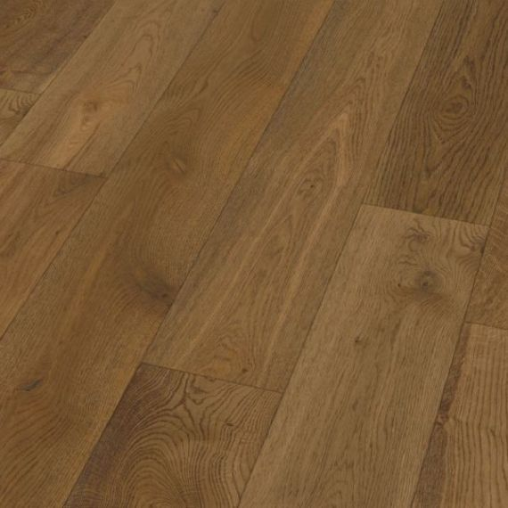 Twickenham Engineered Smoked Character Oak Brushed & Oiled Click Lok 190mm X 14/3mm Wood Flooring