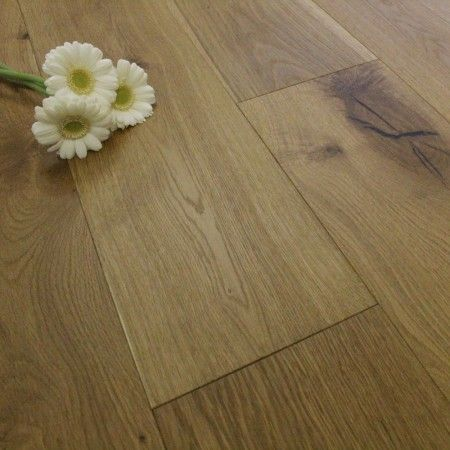 Henley Elite Engineered Smoked and Lightly Brushed & Oiled 190mm x 14/3mm Wood Flooring (Wooden Flooring)