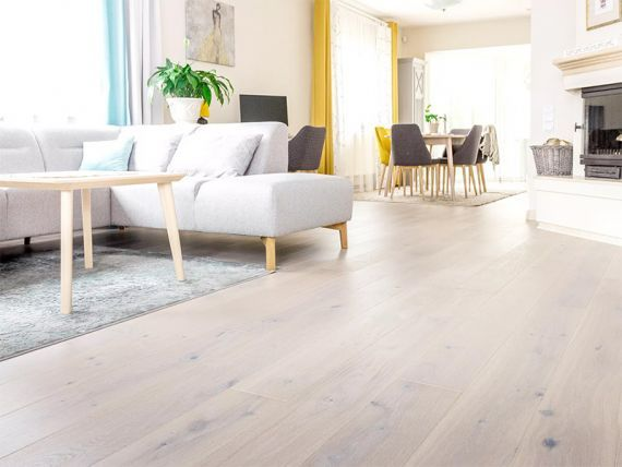 Fyfield Elite Engineered Oak White Oiled 190mm x 14/3mm Wood Flooring