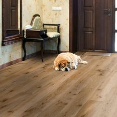 Milano Engineered Natural Oak Rustic Aged Brushed and Oiled Click Lok 189mm x 15/4mm Wood Flooring (Wooden Flooring)
