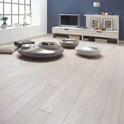 Fyfield Engineered White Oak Brushed and Oiled Click Lok 189mm x 15/4mm Wood Flooring