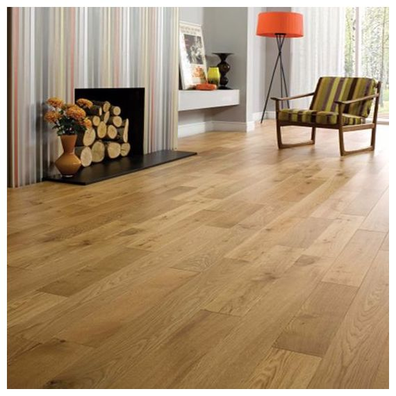 Highgate Engineered Natural Oak Oiled Click Lok 190mm x 15/4mm Wood Flooring