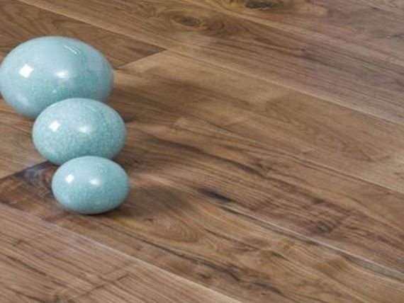 Calder Engineered American Black Walnut Oiled 190mm x 20/4mm Wood Flooring (Wooden Flooring)
