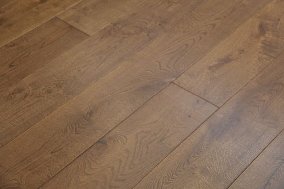 Fyfield Elite Engineered Double Smoked Oak Oiled 220mm x 20/6mm Wood Flooring (Wooden Flooring)