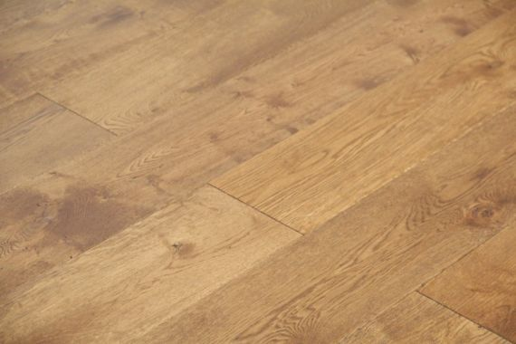 Fyfield Elite Engineered Smoked Oak Brushed and Lacquered 190mm x 20/6mm Wood Flooring