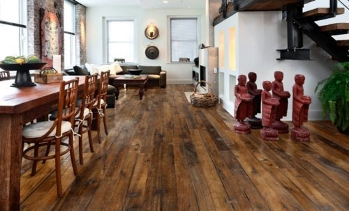 Fyfield Elite Engineered Smoked Oak Handscraped 190mm x 20/6mm Wood Flooring