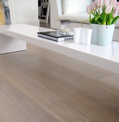 Calder Elite Engineered Smoked Oak Brushed and White Oiled 190mm x 20/6mm Wood Flooring (Wooden Flooring)