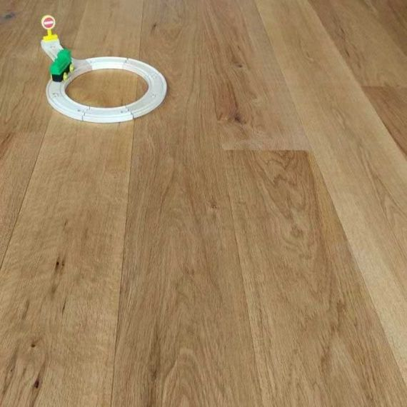 Stockholm Engineered Natural Oak Brushed and Oiled 190mm x 20/6mm Wood Flooring