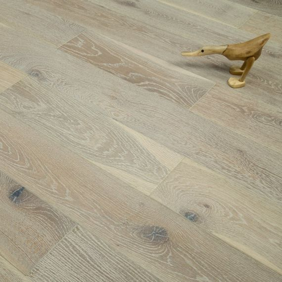 Highgate Elite Engineered Smoked Grey Oak 189mm x 20/6mm Wood Flooring