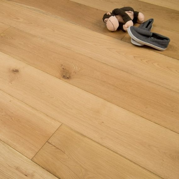 Cressington Elite Engineered Natural Oak Brushed and Oiled 240mm x 20/6mm Wood Flooring