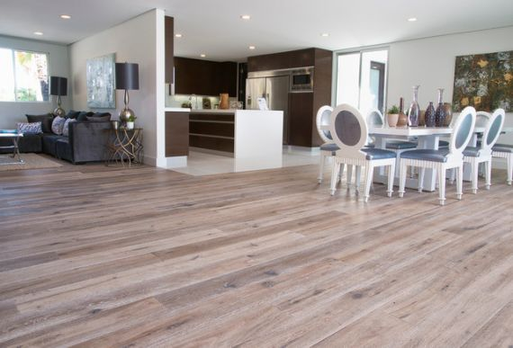 Fyfield Elite Engineered Grey Oak Handscraped White Oiled 220mm x 20/6mm Wood Flooring