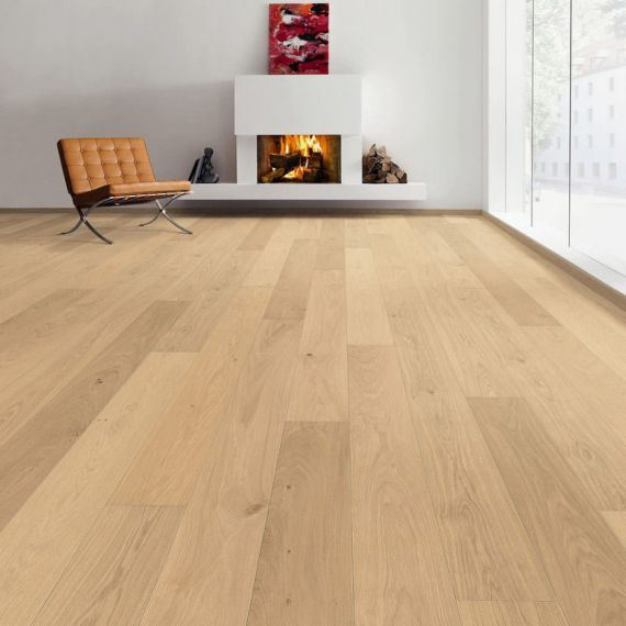Highgate Elite Engineered Natural Oak Invisible Oiled  **PRIME** 242mm x 15/4mm Wood Flooring