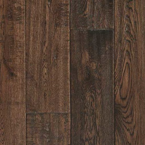 Barnworth Solid Burghley Oak Rustic Handscraped and Lacquered 150mm x 18mm Wood Flooring (Wooden Flooring)