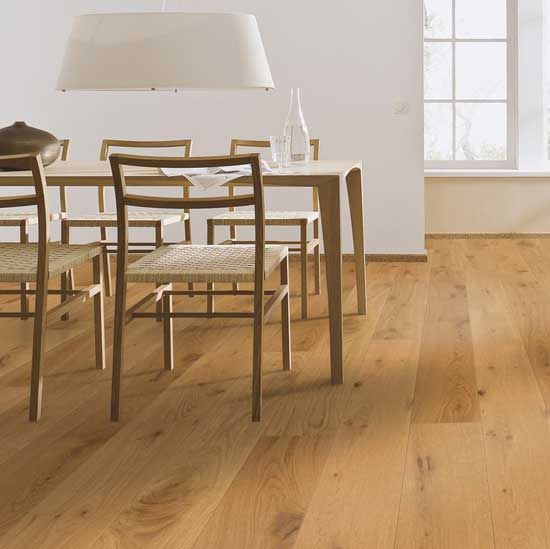 Meister PD200 Longlife Rustic Oak Matt Lacquered 180mm x 13/2.5mm Engineered Parquet Wood Flooring (Wooden Flooring)