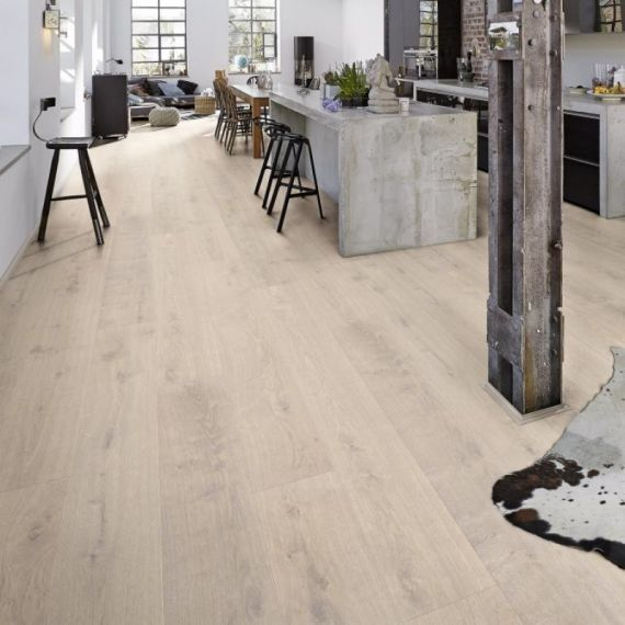 Meister HD300 Lindura White Washed Oak Brushed & Oiled 270mm x 11/0.6mm Wood Flooring (Wooden Flooring)