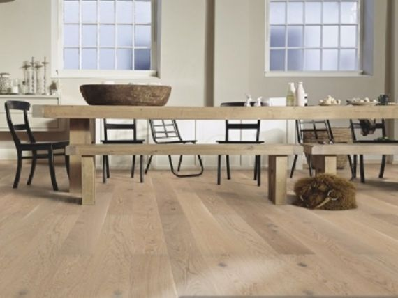 Meister PD200 Longlife Pure Rustic Oak Oiled 180mm x 13/2.5mm Engineered Parquet Wood Flooring (Wooden Flooring)