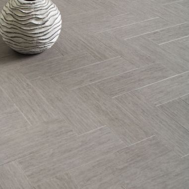 Sawbury Elite Engineered White Oak Brushed and Lacquered Click Lok 148mm x 15/3mm Parquet Wood Flooring (Wooden Flooring)