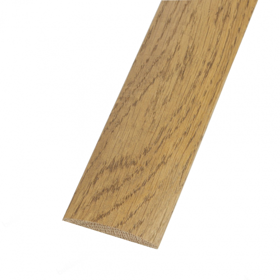 Solid Oak Coverstrip To Complement Natural Oak Flooring 3m Length