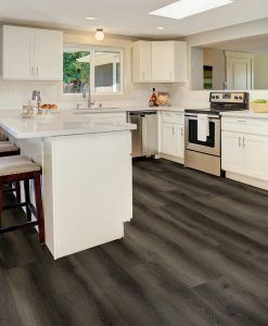 Highgate Luxury Vinyl Dark Grey Rigid Core 176mm x 5/0.5mm Flooring