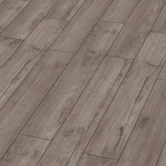 Kronotex Exquisite 8mm Nostalgia Silver Teak Laminate Flooring